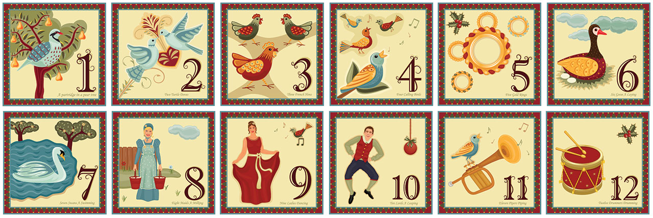 12 Days Of Christmas.The Twelve Days Of Christmas Project Creative Classrooms