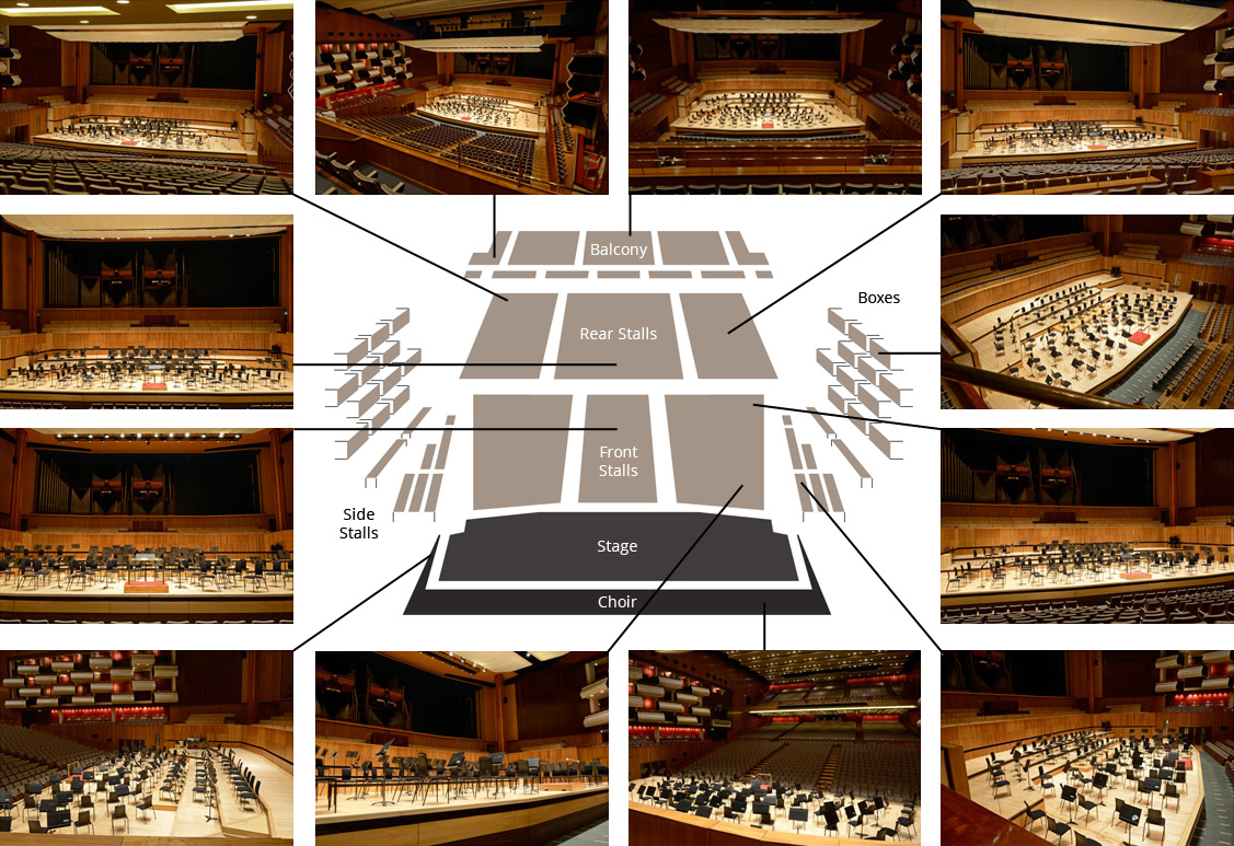 Royal Festival Hall Seating Plan And Images