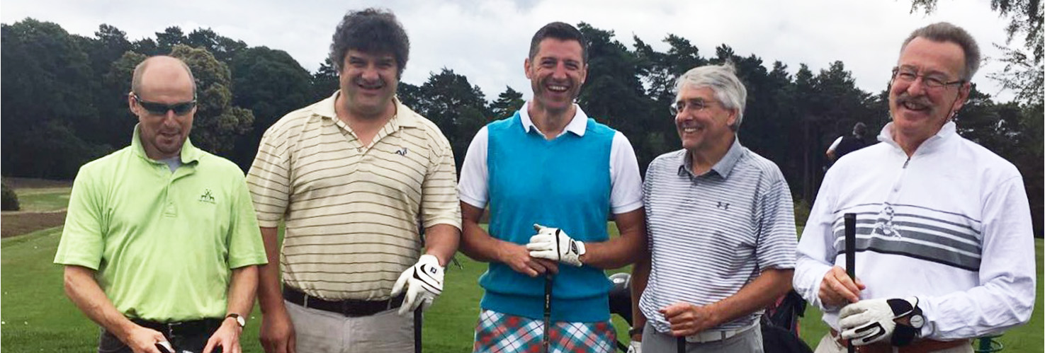 Players on Golf Day
