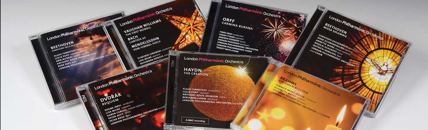 Choral CDs on the LPO Label