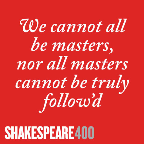 Shakespeare400 power