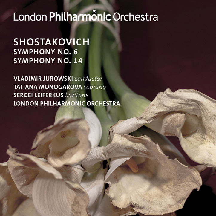Shostakovich 6 & 14 CD cover