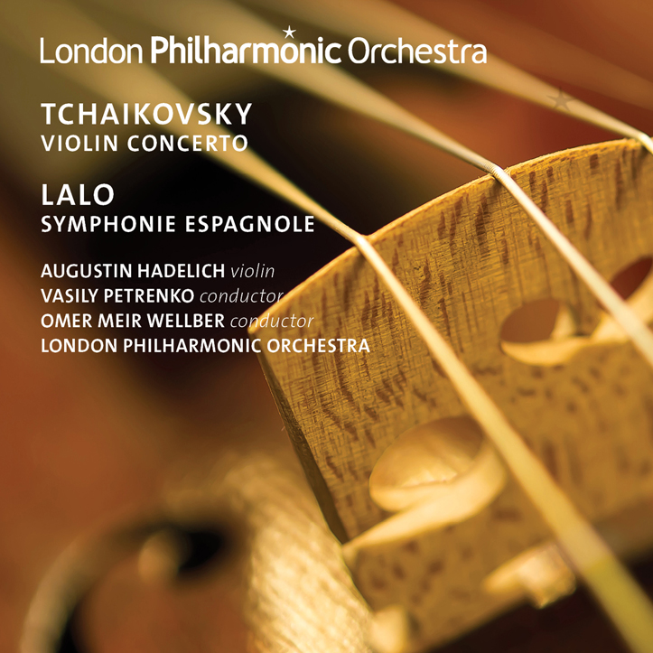 CD: Tchaikovsky & Lalo violin works