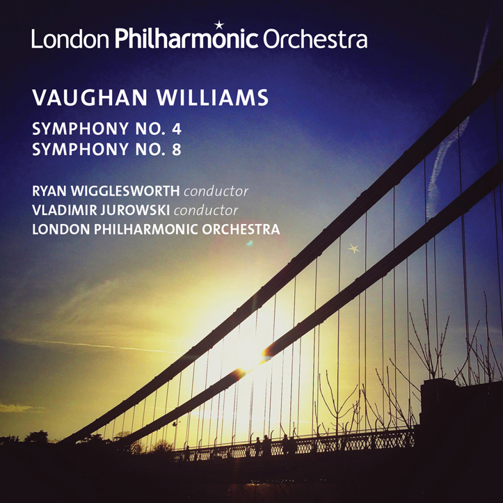 CD: Vaughan Williams – Symphonies Nos. 4 & 8