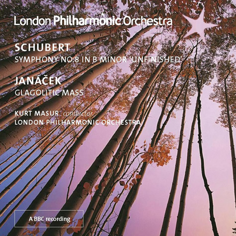 CD: Masur conducts Schubert & Janáček