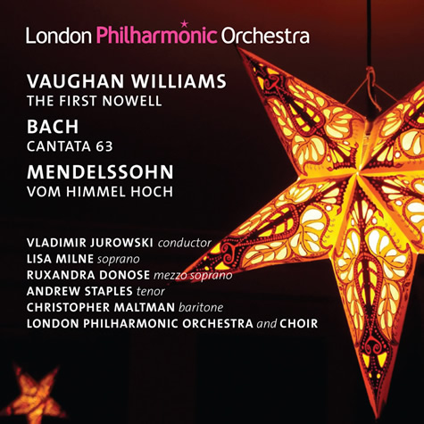 CD: Jurowski conducts Vaughan Williams, Bach & Mendelssohn