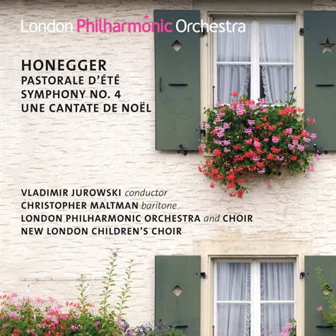 CD: Jurowski conducts Honegger