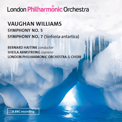 CD: Vaughan Williams – Symphonies Nos. 5 & 7