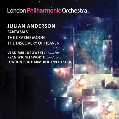 Julian Anderson CD cover