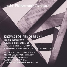 CD: Penderecki Horn and Violin Concertos
