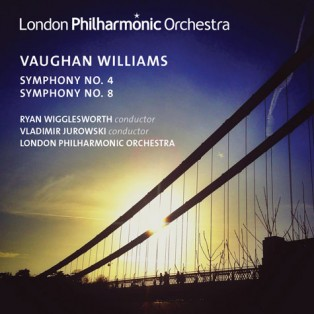 New CD: Vaughan Williams 4 & 8