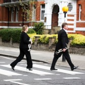 On the way to Abbey Road